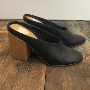 dolce vita dressed up chunky heel clog